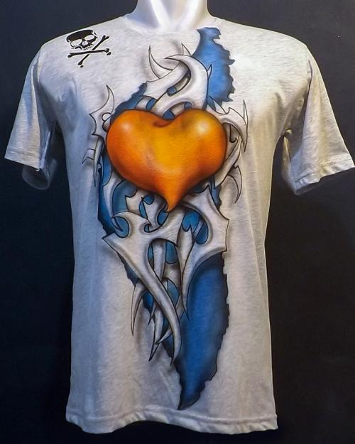 Heart tribal